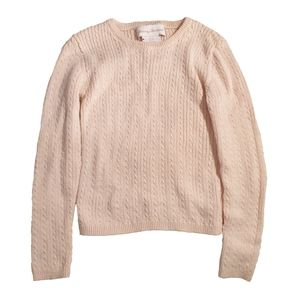 Pink Pull Over Toddler Sweater